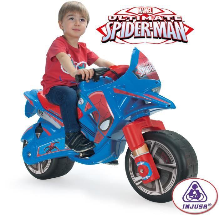 moto scooter spiderman moto electrique enfant 6 volts