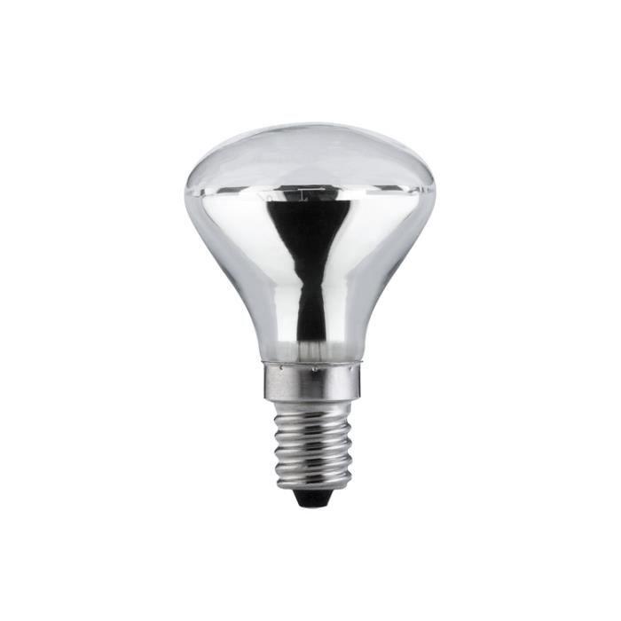 paulmann 20047 ampoule incandescente reflecteur r45 50w e14 pour lampe lave 230 v achat. Black Bedroom Furniture Sets. Home Design Ideas