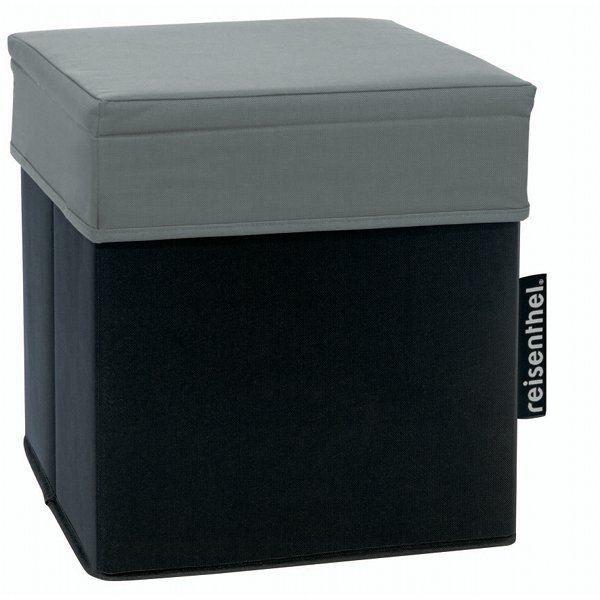 Pouf coffre de rangement noir et gris achat vente pouf poire cdiscount - Pouf coffre rangement ...