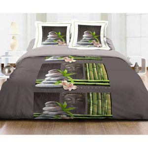 parure de drap lit 160x200 achat vente parure de drap lit 160x200 pas cher cdiscount. Black Bedroom Furniture Sets. Home Design Ideas