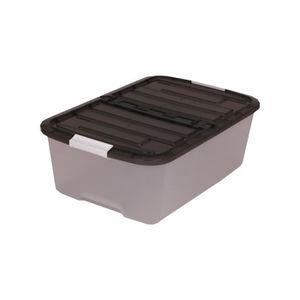 Bac de rangement en plastique avec couvercle achat - Boite de rangement plastique avec couvercle pas cher ...