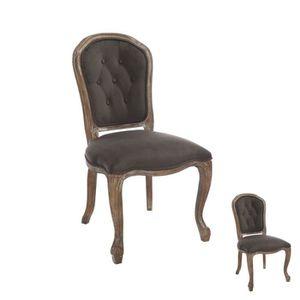 chaise louis xv achat vente chaise louis xv pas cher cdiscount. Black Bedroom Furniture Sets. Home Design Ideas