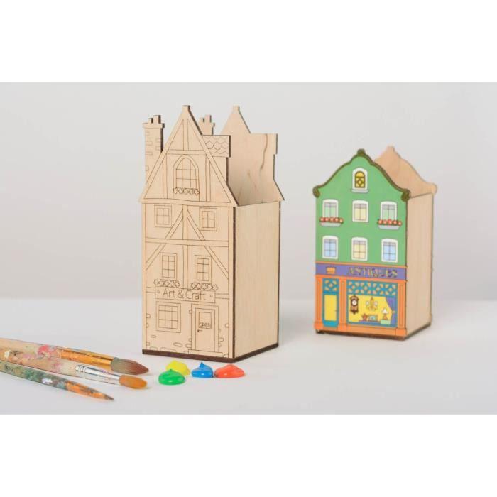 Accessoire de bureau design en bois brut achat vente for Accessoire de bureau design