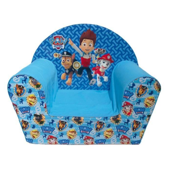 pat 39 patrouille fauteuil pour enfant bleu achat vente. Black Bedroom Furniture Sets. Home Design Ideas