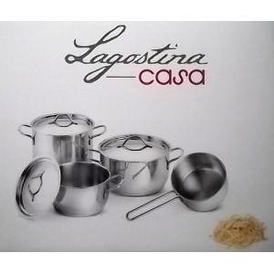 Lagostina casa gourmet batterie de cuisine set achat vente batterie de - Batterie de cuisine lagostina ...