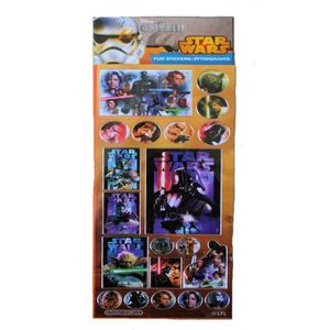 Planche stickers star wars achat vente planche for Autocollant mural star wars