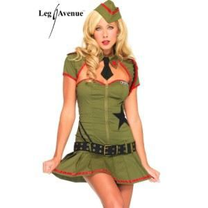 DEGUISEMENT SEXY  Costume Pin Up US Army (taille: …