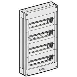 coffret electrique 4 module achat vente coffret electrique 4 module pas cher cdiscount. Black Bedroom Furniture Sets. Home Design Ideas