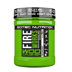 FireWorks 360g MANGUE-CITRON Scitec Wod Crusher Fire Works Cross fit Musculation