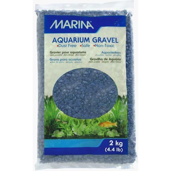 Gravier bleu marine pour aquarium 2 kg achat vente - Gravier pour aquarium ...