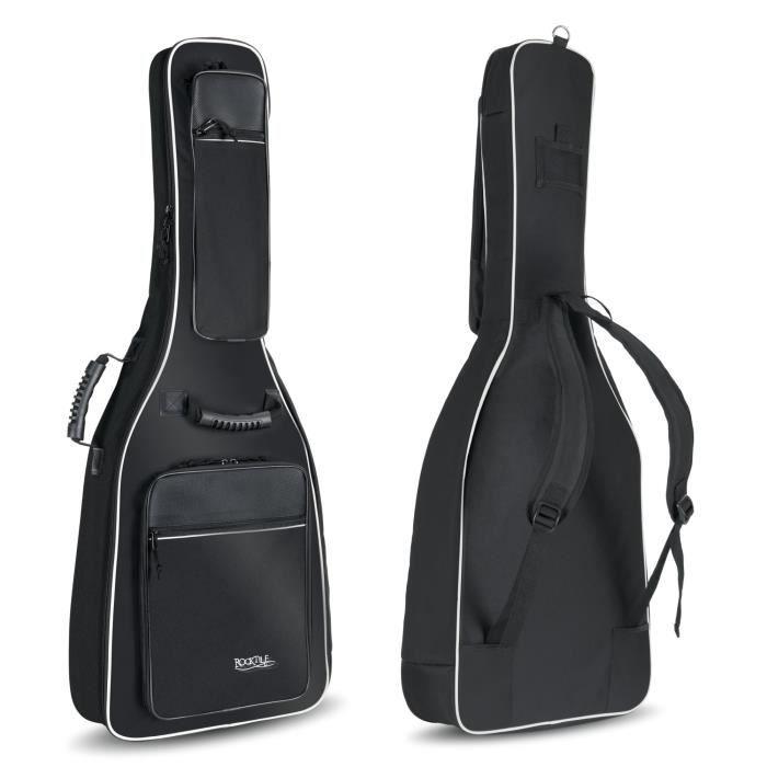 Rocktile housse pour guitare acoustique de luxe achat for Housse guitare acoustique