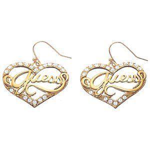 boucles d 39 oreilles guess bijoux ube12902 femme achat. Black Bedroom Furniture Sets. Home Design Ideas