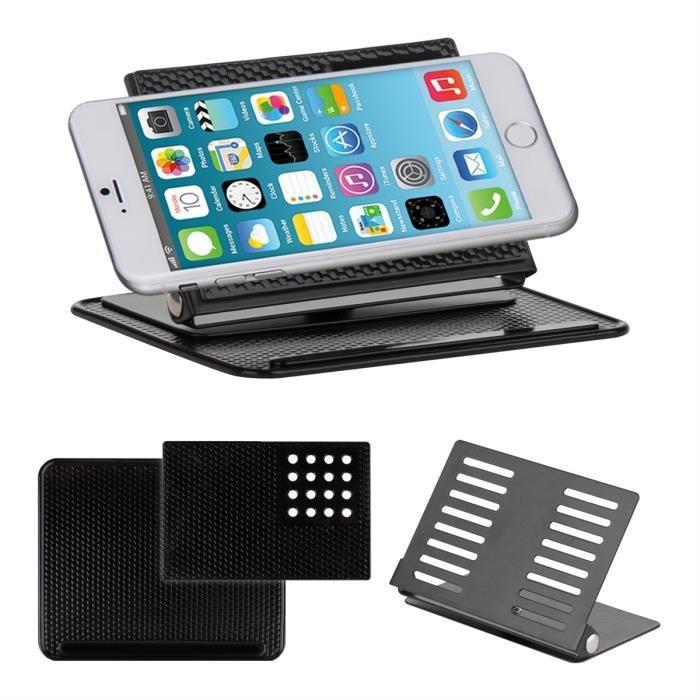 kwmobile support pour voiture tableau de bord pour apple iphone 6 plus 5 5 avec rev tement. Black Bedroom Furniture Sets. Home Design Ideas