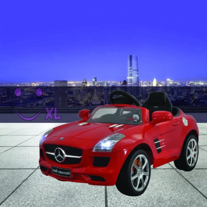 voiture lectrique mercedes benz pour enfants rouge achat vente voiture enfant cdiscount. Black Bedroom Furniture Sets. Home Design Ideas