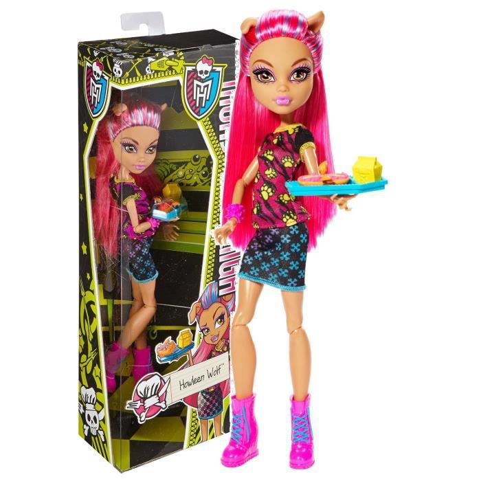 monster high creepateria poup e howleen wolf achat. Black Bedroom Furniture Sets. Home Design Ideas