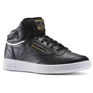 BASKET REEBOK Baskets Club C 85 Mid Cuir Chaussures Homme