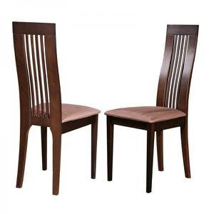 chaises en bois dossier haut de salle a manger achat. Black Bedroom Furniture Sets. Home Design Ideas