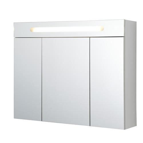 Armoire de toilette sopran 39 o 80 cm achat vente for Portillon largeur 80 cm