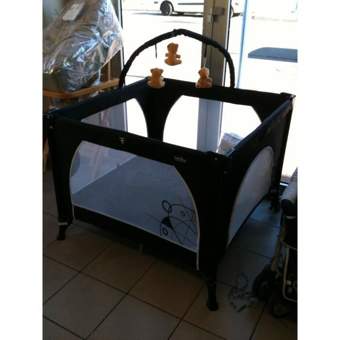 parc parapluie noir babybus achat vente parc b b 2009898686479 cdiscount. Black Bedroom Furniture Sets. Home Design Ideas