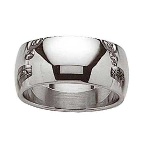 bague anneau en acier taille 62 largeur 9 mm achat vente bague anneau bague anneau en. Black Bedroom Furniture Sets. Home Design Ideas