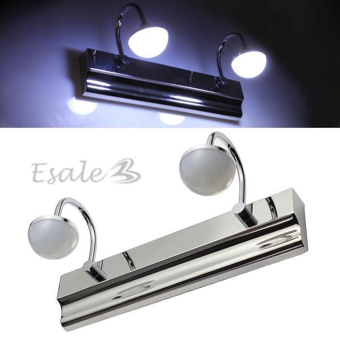 Lampe ampoule 12 leds smd5630 lumi re blanc 6w 400lm pour for Lampe led pour salle de bain