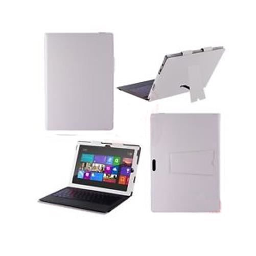 etui stand pour microsoft surface 3 pro blanc coque. Black Bedroom Furniture Sets. Home Design Ideas
