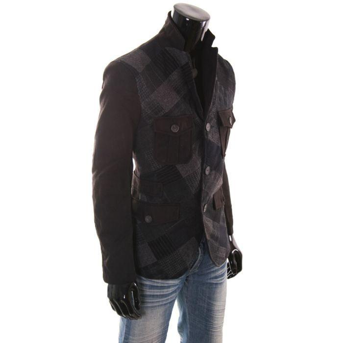 veste homme desigual horacio noir achat vente veste