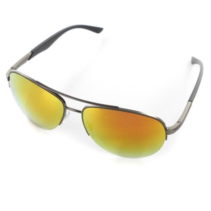 lunettes de soleil aviateur achat vente lunettes de soleil cdiscount
