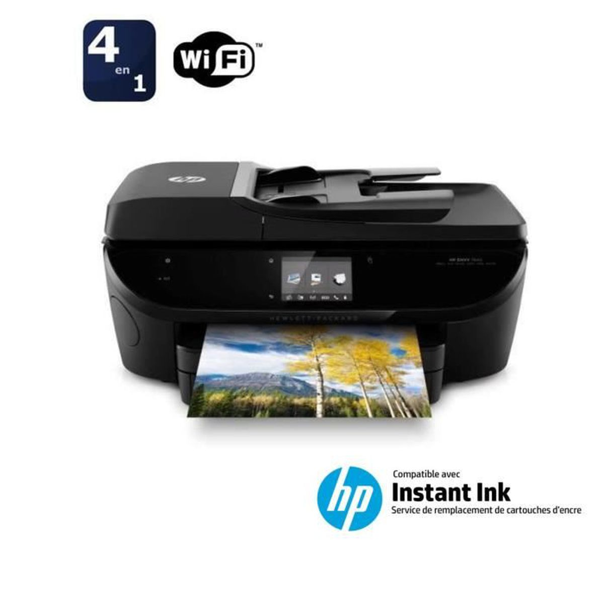 imprimante hp envy 7640 compatible instant ink achat vente imprimante hp envy 7640 cdiscount. Black Bedroom Furniture Sets. Home Design Ideas