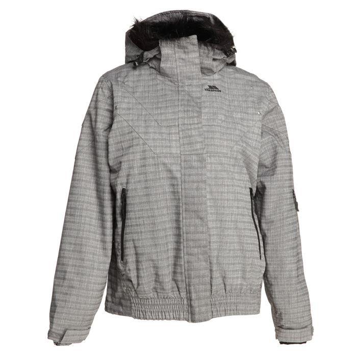 trespass blouson ski tp75 femme achat vente blouson manteau trespass blouson ski femme. Black Bedroom Furniture Sets. Home Design Ideas