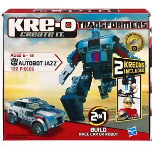 FIGURINE - PERSONNAGE Kreo Figurine Transformers Jazz 122 Pièces
