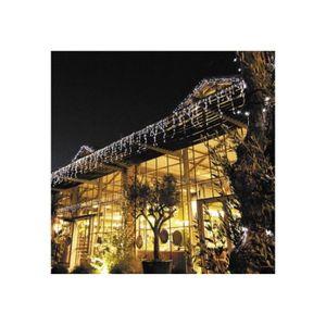 GUIRLANDE LUMINEUSE INT Guirlande Stalactites Solaire LED 6 m