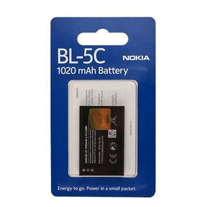Batterie téléphone Originale Batterie Blister NOKIA BL 5C POUR NOKIA