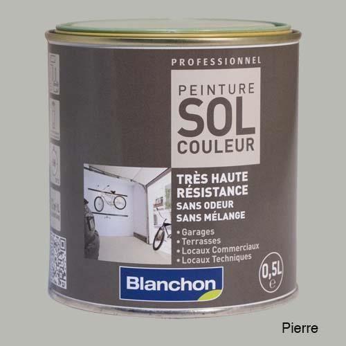 blanchon peinture sol couleur pierre achat vente traitement sols bois cdiscount. Black Bedroom Furniture Sets. Home Design Ideas