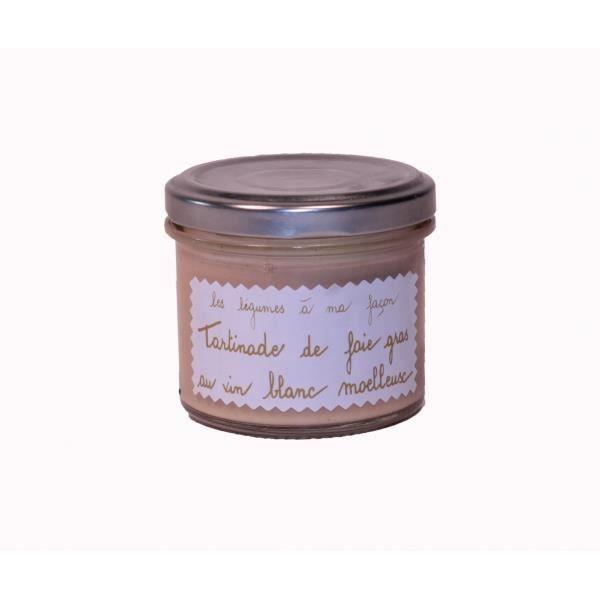 tartinade de foie gras au vin blanc moelleux 100g achat vente foie gras tartinade de foie. Black Bedroom Furniture Sets. Home Design Ideas