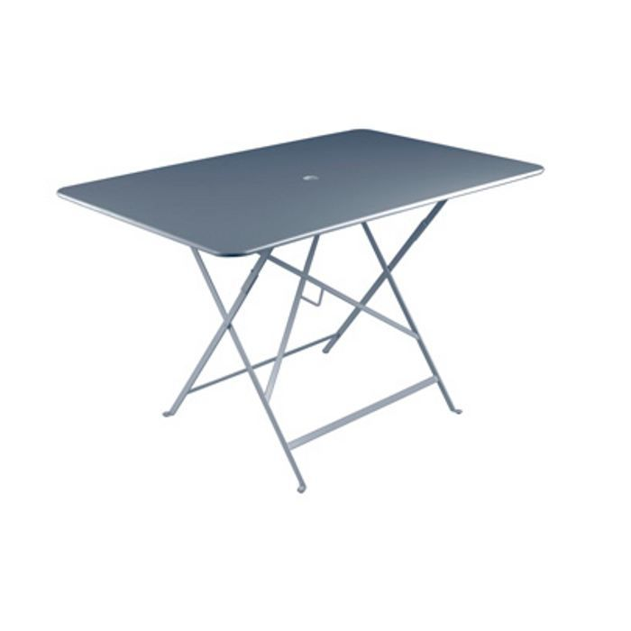 Table bistro gris orage achat vente table de jardin - Table bistro jardin ...