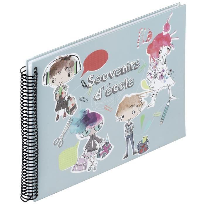 album scolaire souvenir d 39 ecole 38 pages 24 5 x 34 achat vente album album photo album. Black Bedroom Furniture Sets. Home Design Ideas