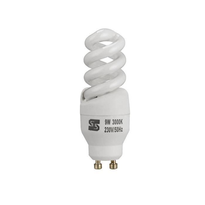Gu10 de lumi re au plafond de 9 watts lampe con achat vente ampoule led cdiscount - Lumiere au plafond ...