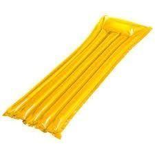 jeux d 39 eau matelas gonflable mod le jaune achat vente matelas gonflable cdiscount. Black Bedroom Furniture Sets. Home Design Ideas