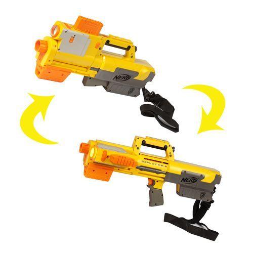 Nerf Deploy Pistolet laser et chargeur Clip - Achat / Vente pistolet ...