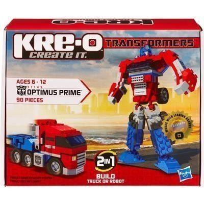 Hasbro Kreo Optimus Prime peut être construit en camion ou en