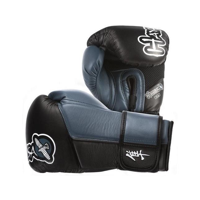 gants de boxe hayabusa tokushu 14oz noir et bleu prix. Black Bedroom Furniture Sets. Home Design Ideas