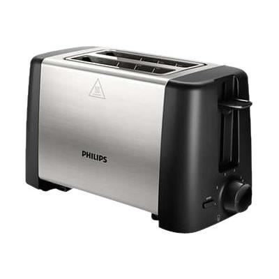 grille pain philips compact 2 fentes 800w achat. Black Bedroom Furniture Sets. Home Design Ideas