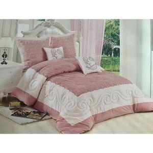 couvre lit jet de lit achat vente couvre lit jet. Black Bedroom Furniture Sets. Home Design Ideas