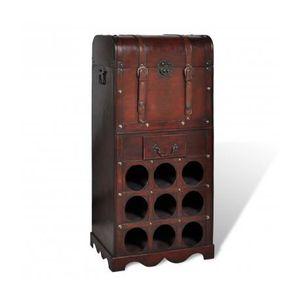 range bouteilles bois achat vente range bouteilles bois pas cher cdiscount. Black Bedroom Furniture Sets. Home Design Ideas