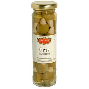 OLIVE Olives Farcies aux Amandes 85G ERIC BUR