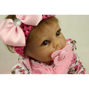 POUPÉE 22 pouce 55 cm bébé reborn Silicone poupées, réali