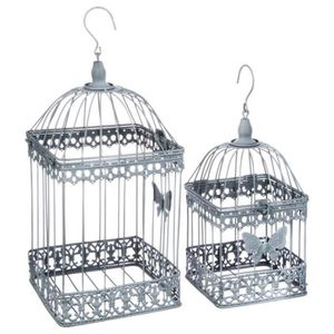 cage oiseau decorative achat vente cage oiseau decorative pas cher les soldes sur. Black Bedroom Furniture Sets. Home Design Ideas