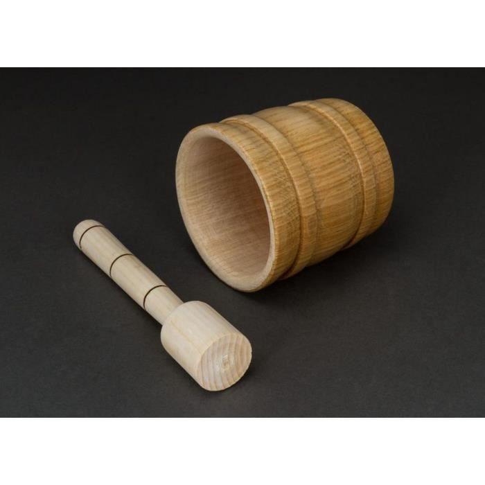 le mortier et le pilon sont fabriqu s du bois le pilon n 39 est pas couvert et soigneusement poli. Black Bedroom Furniture Sets. Home Design Ideas