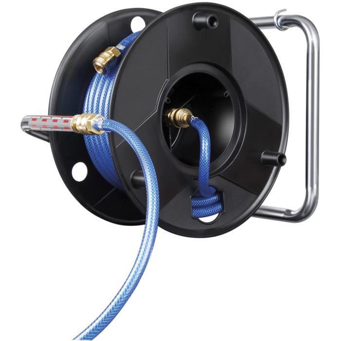 enrouleur de tuyau air comprim de 20m diam achat vente accessoire pneumatique cdiscount. Black Bedroom Furniture Sets. Home Design Ideas